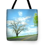 Just Around The Corner Tote Bag