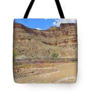 Just Around The River Bend 6 Tote Bag