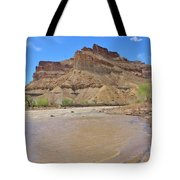 Just Around The River Bend 7 Tote Bag