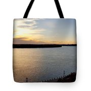 Just Around The River Bend Tote Bag