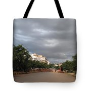 Just Before The Downpour Tote Bag
