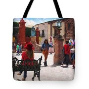 Just Before The Wedding Tote Bag