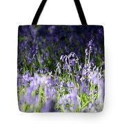 Just Bluebells  Tote Bag