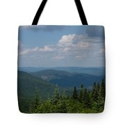 Just Climb Mountains And Breathe Deeply Tote Bag