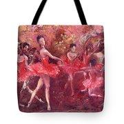 Just Dancing Tote Bag