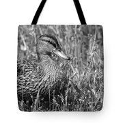 Just Ducky Bw Tote Bag