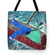 Just Fishin Tote Bag