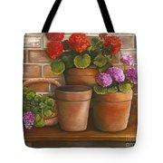 Just Geraniums Tote Bag