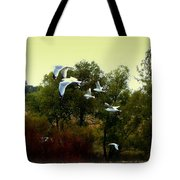 Just Go Then Tote Bag