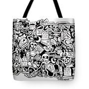 Just Halloweeny Things Tote Bag