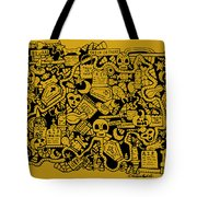 Just Halloweeny Things V5 Tote Bag