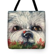 Just Hiding Out Tote Bag