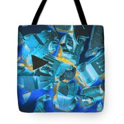 Just Like A Slow Motion Car Crash Tote Bag