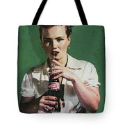 Just Like Old Times - Coca-cola Tote Bag