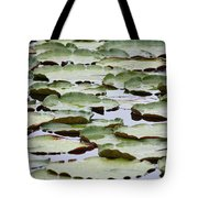 Just Lily Pads Tote Bag