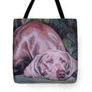 Just Lovely Weimaraner Tote Bag
