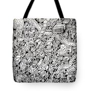 Just One Night Tote Bag