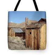 Just Out Back Tote Bag
