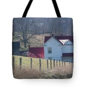 Just Over The Hill - Craig County Virginia Scenic Tote Bag