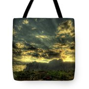 Just Over The Hill Tote Bag