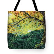 Just Over The Hill Too Tote Bag