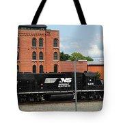 Just Plain Train Love Tote Bag