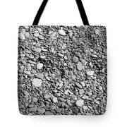 Just Rocks - Black And White Tote Bag