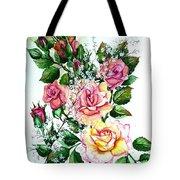 Just Roses Tote Bag