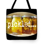 Just Squickled Green Tote Bag