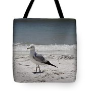 Just Strolling Along Tote Bag by Megan Cohen