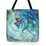 Just Swimming Tote Bag