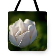 Just White Tote Bag
