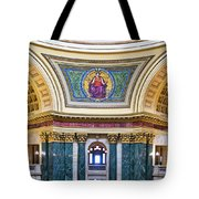 Justice Mural - Capitol - Madison - Wisconsin Tote Bag