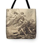 Justice, Vengeance, And Truth Tote Bag