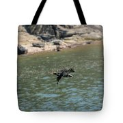 Juvenile Eagle Going Fishing Pickwick Lake Tennessee 031620161304 Tote Bag