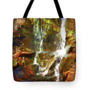 Cascading Water Tote Bag