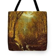 Kaaterskill Falls Tote Bag by Sanford Robinson Gifford