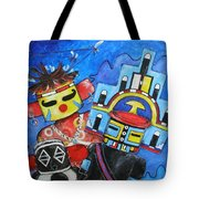 Kachina Knights Tote Bag