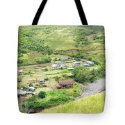 Kahakuloa Village Maui Hawaii Tote Bag