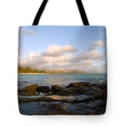 Kailua Bay Sunrise Tote Bag