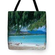 Kailua Beach Park Tote Bag
