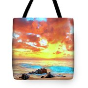 Kailua-kona Sunset Tote Bag
