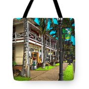 Kailua Village - Kona Hawaii Tote Bag