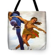 Kaitlyn Weaver And Andrew Poje Tote Bag