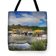 Kaitoura Nz Panorama Tote Bag
