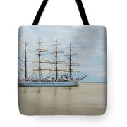 Kaiwo Maru On The Way To The Open Ocean. Tote Bag