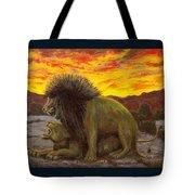 Kalahari Sunset Tote Bag