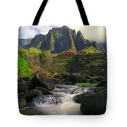 Kalalau Cathedral Tote Bag