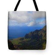 Kalalau Storm Clearing Tote Bag