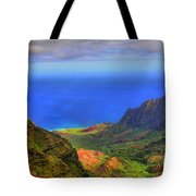 Kalalau Valley Tote Bag